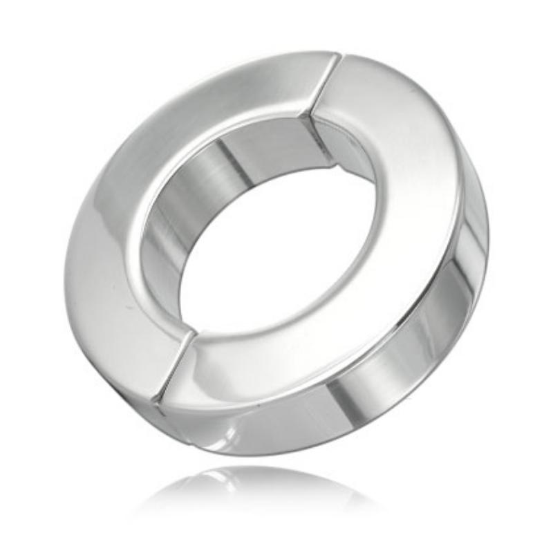 Anillo Testículos Metal Hard Acero 14 mm