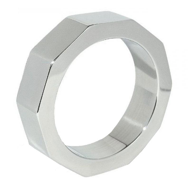 Anillo Pene Y Testículos Metal Hard 55 mm