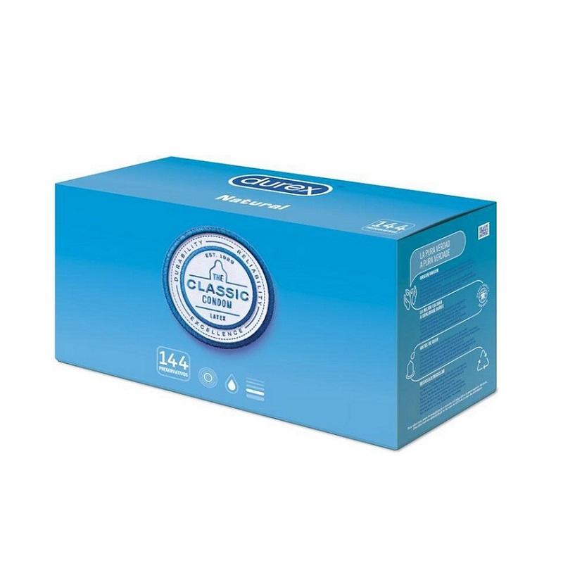 Caja 144 Preservativos Durex Natural Basic