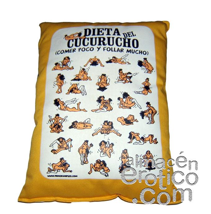 Cojín Dieta Cucurucho Amarillo