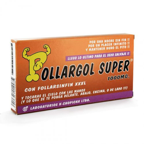 Caja Caramelos POLLARGOL SUPER