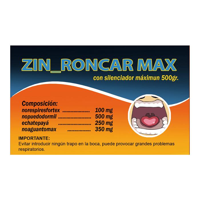 Caja Caramelos Zin Roncar Max