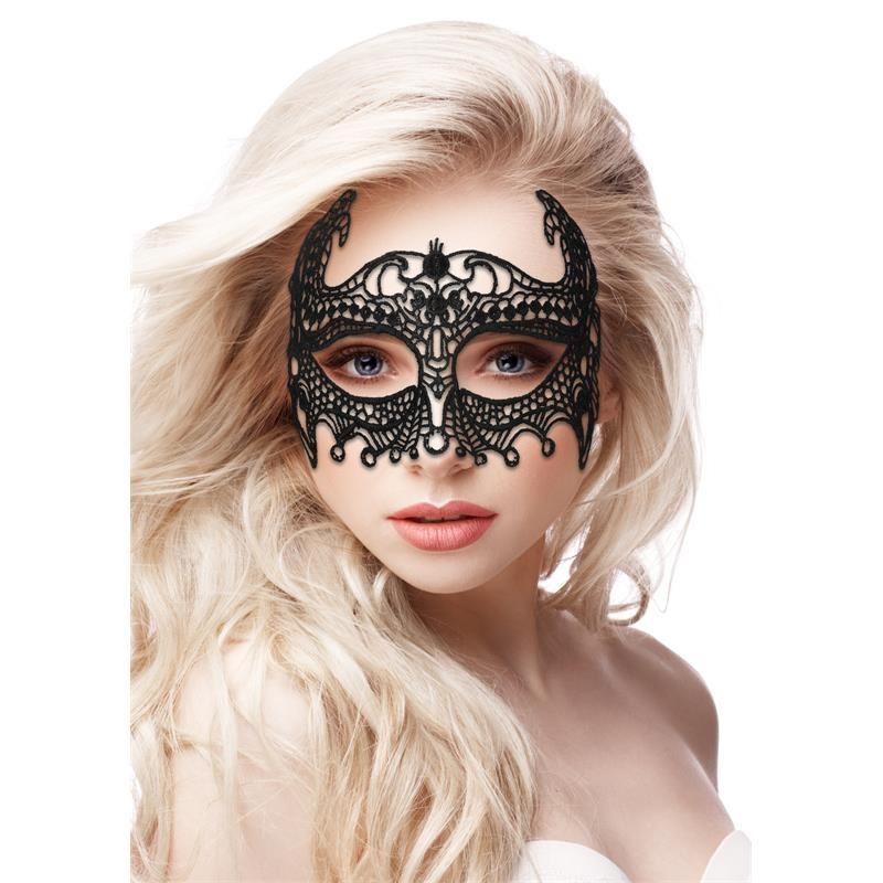 Máscara Ouch Empress Black Lace