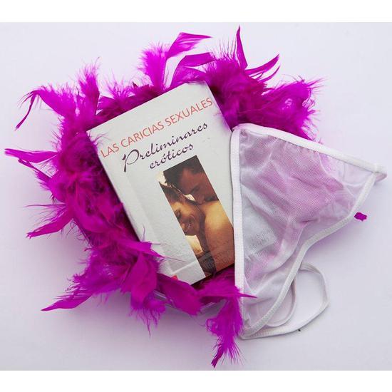 Corazón/Libro/Boa/Tanga