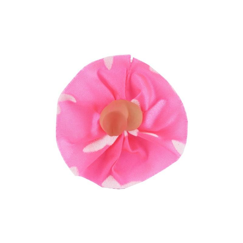 Broche Pito Rosa Conejitos