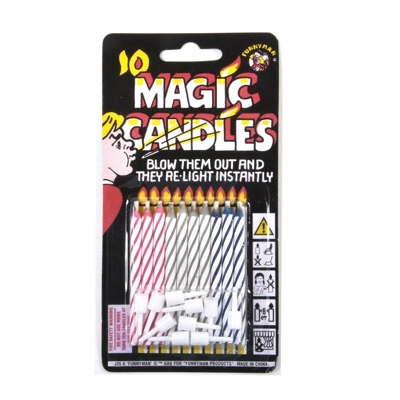 Magic Candles 10 Unidades