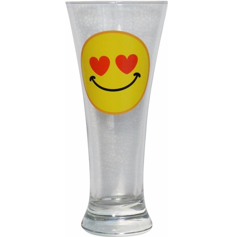 1 Vaso Cerveza Emoticono Hearts