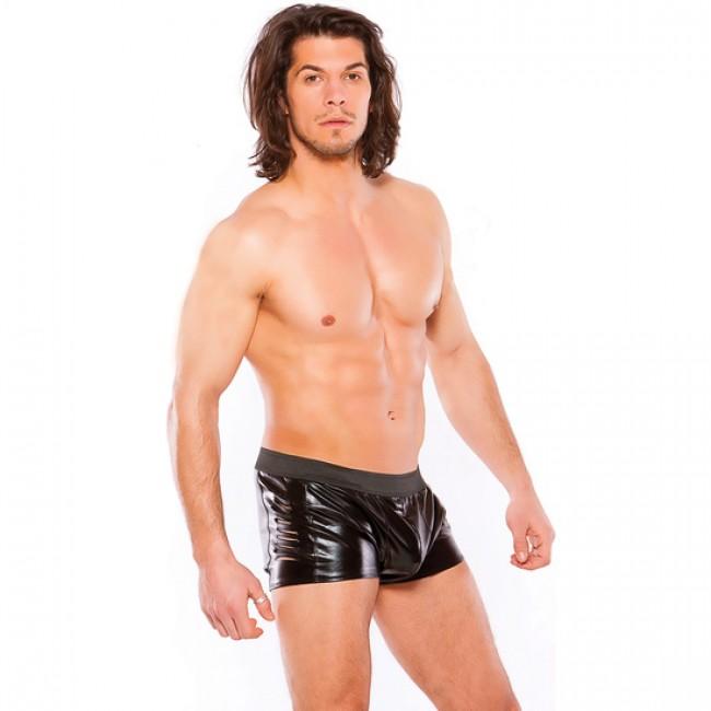 Short Hombre Zeus Wet Look Slashed Allure 33-1082Z