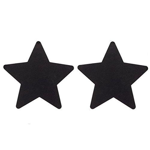 Cubre Pezones Black Star