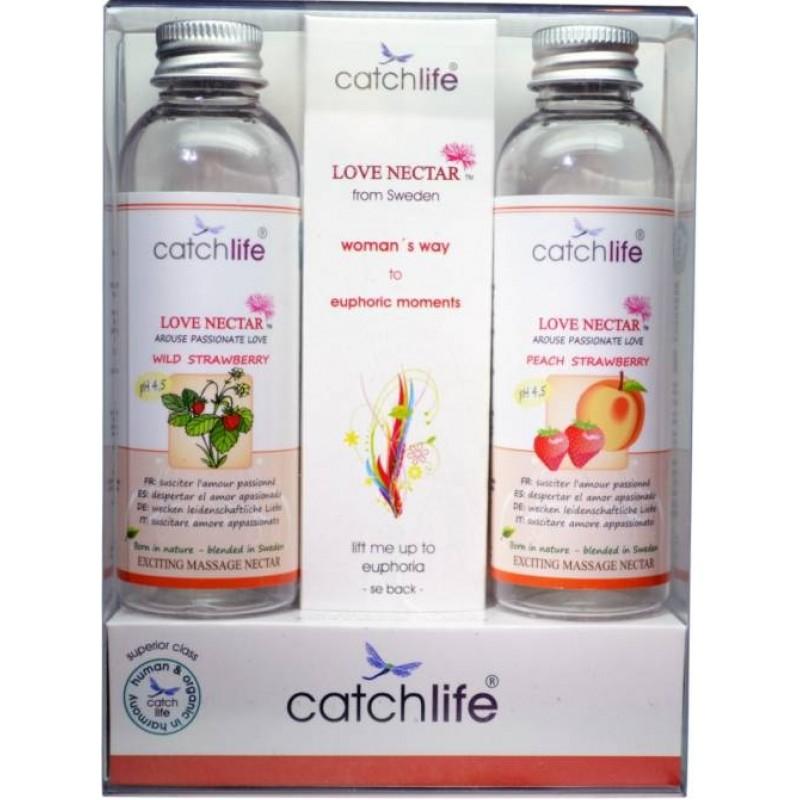 Catch Life Pack Love Nectar Way Batidos Massage 2 x 75 ml