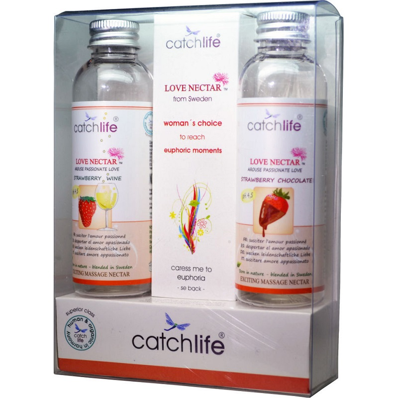 Catch Life Pack Love Nectar Choice Batidos Massage 2 x 75 ml