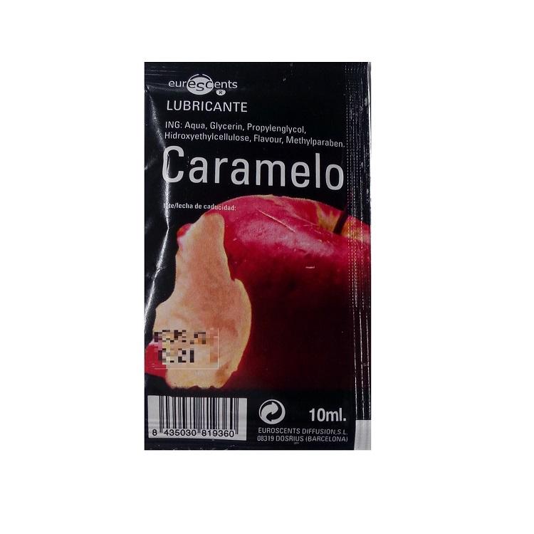 Lubricante Sabor Caramelo Tentación 10 ml