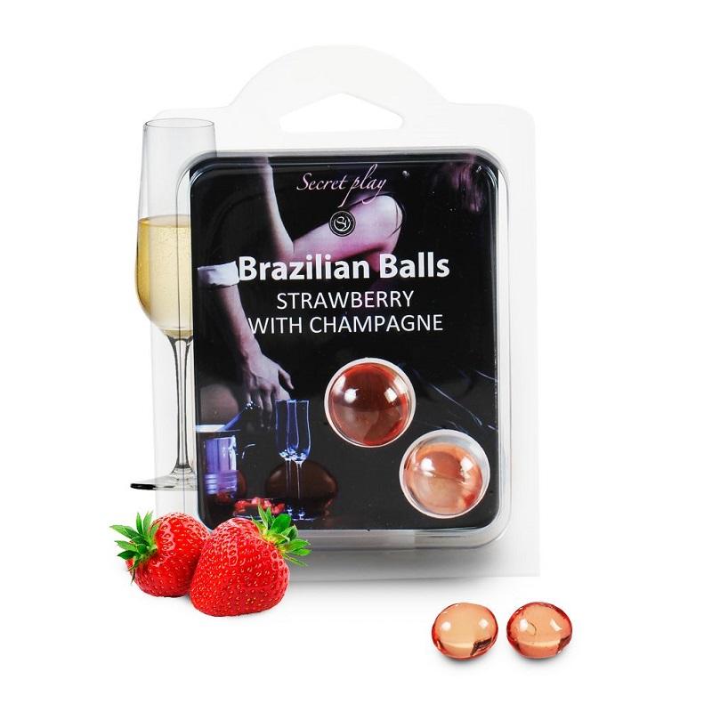 Brazilian Balls Fresas con Cava
