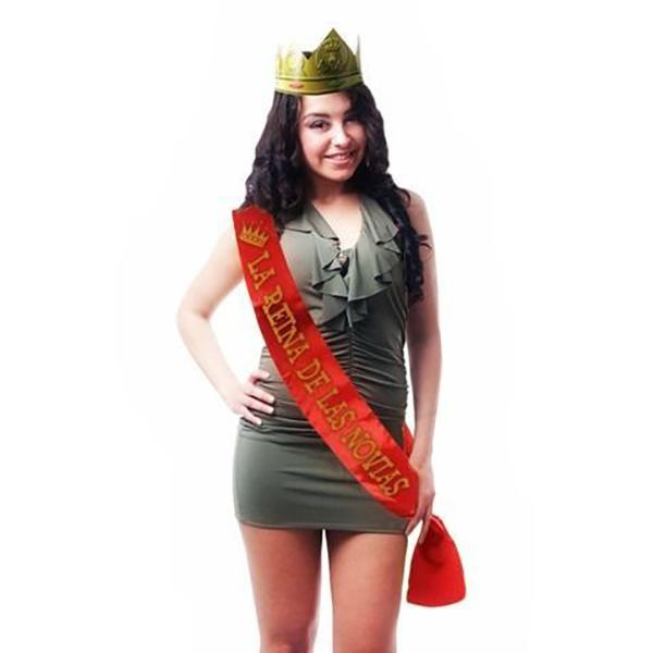 Banda La reina de las novias + Corona
