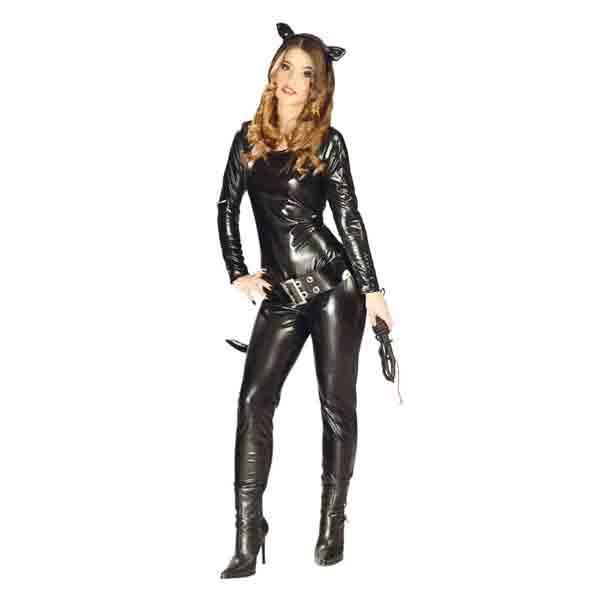 Disfraz mujer gata negra
