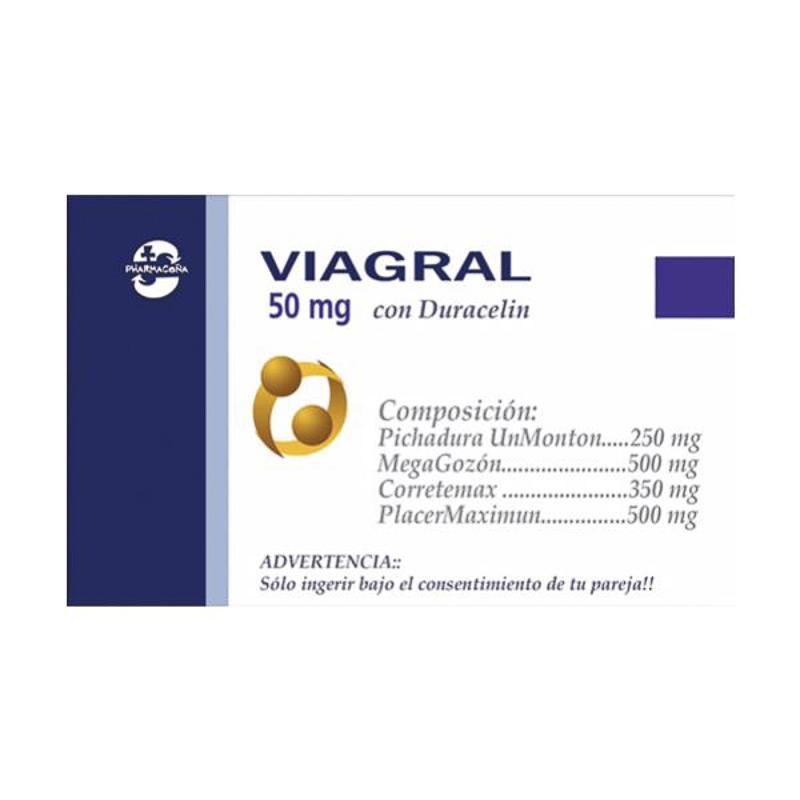 Caja Caramelos Pharmacoña VIAGRAL