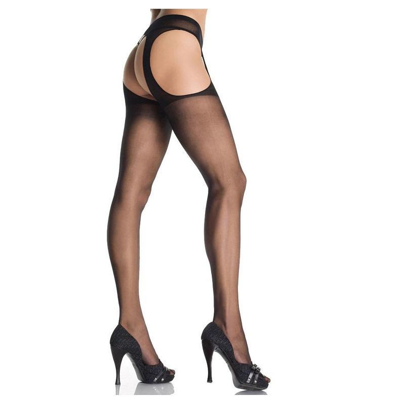 Panty Liguero Leg Avenue Negro 1901