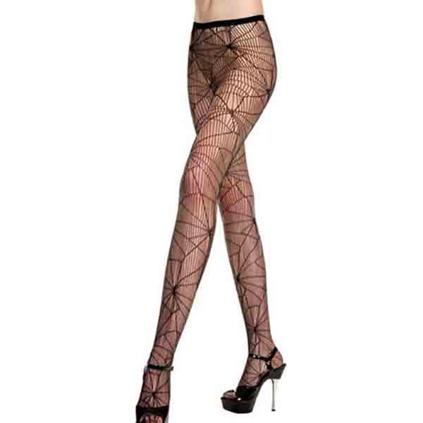 Panty Tela Araña Music Legs 50007