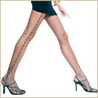 Panty Red Music Legs 5063