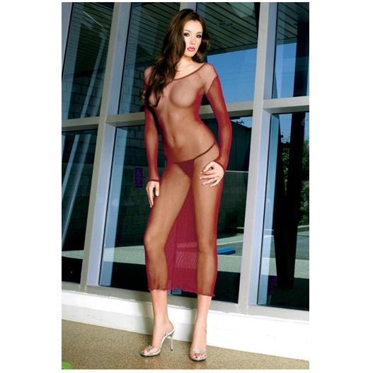 Vestido Largo Red Music Legs 3591