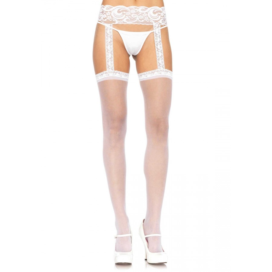 Panty Liguero Leg Avenue Blanco 1767