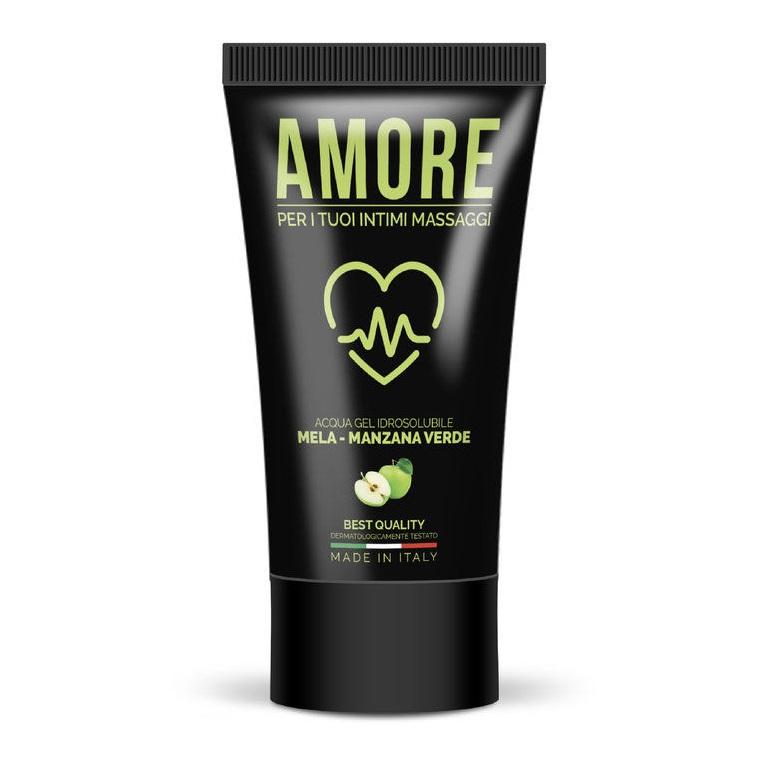 Amore Lubricante Base Agua Manzana Verde 75 ml