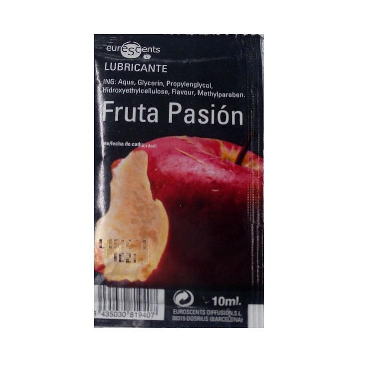 Lubricante Sabor Fruta Pasión Tentación 10 ml