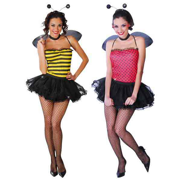 Disfraz 2 en 1 Abeja Y Mariquita