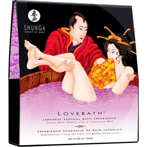 Love Bath  Shunga Sensual Lotus 650 gr