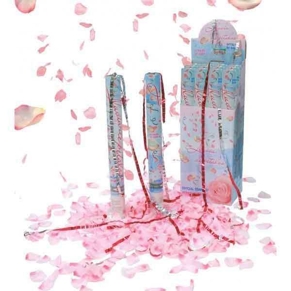 Cañon Confeti Pétalos Rosas