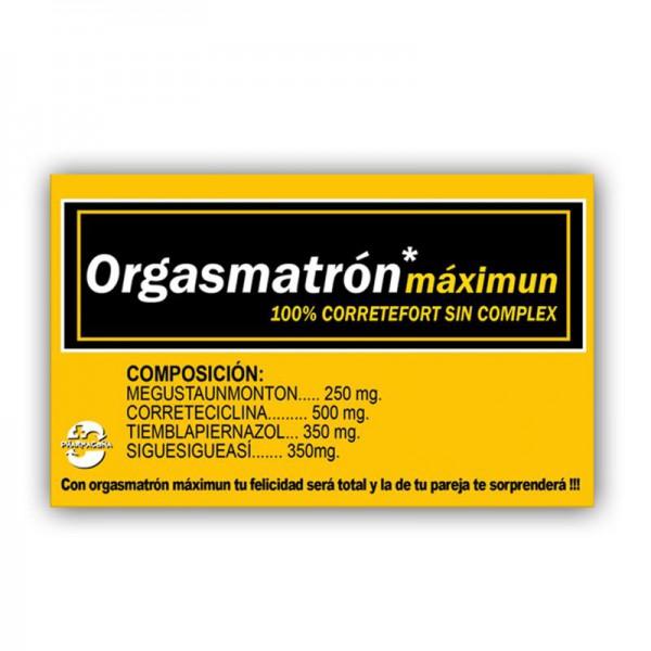 Caja Caramelos ORGASMATRÓN Máximun