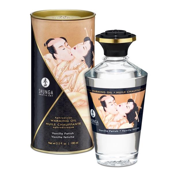 Aceite Afrodisíaco Besos Íntimos Vainilla Shunga 100 ml