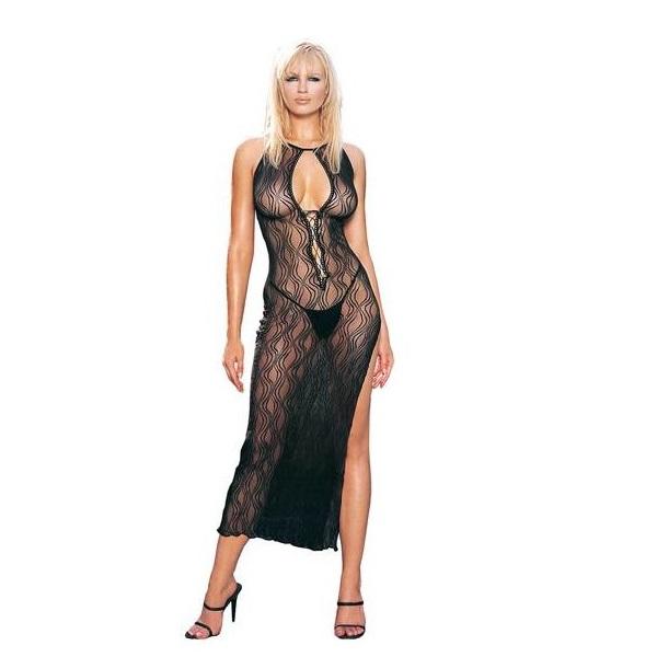 Vestido Y Tanga Leg Avenue 8536