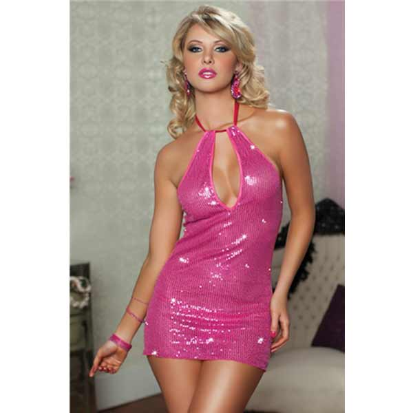 Vestido Mini 9658P Midnight