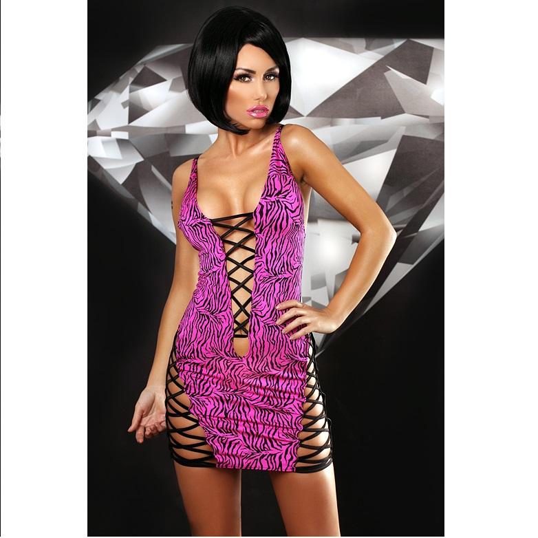 Vestido Lolitta Zebra