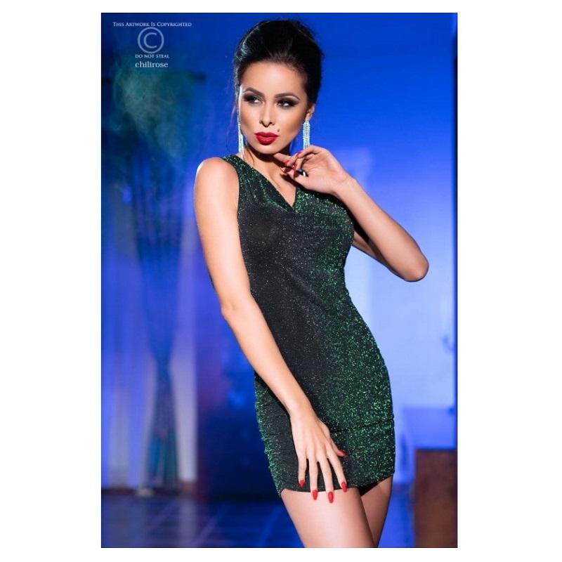 Mini Vestido Chilirose CR-4238