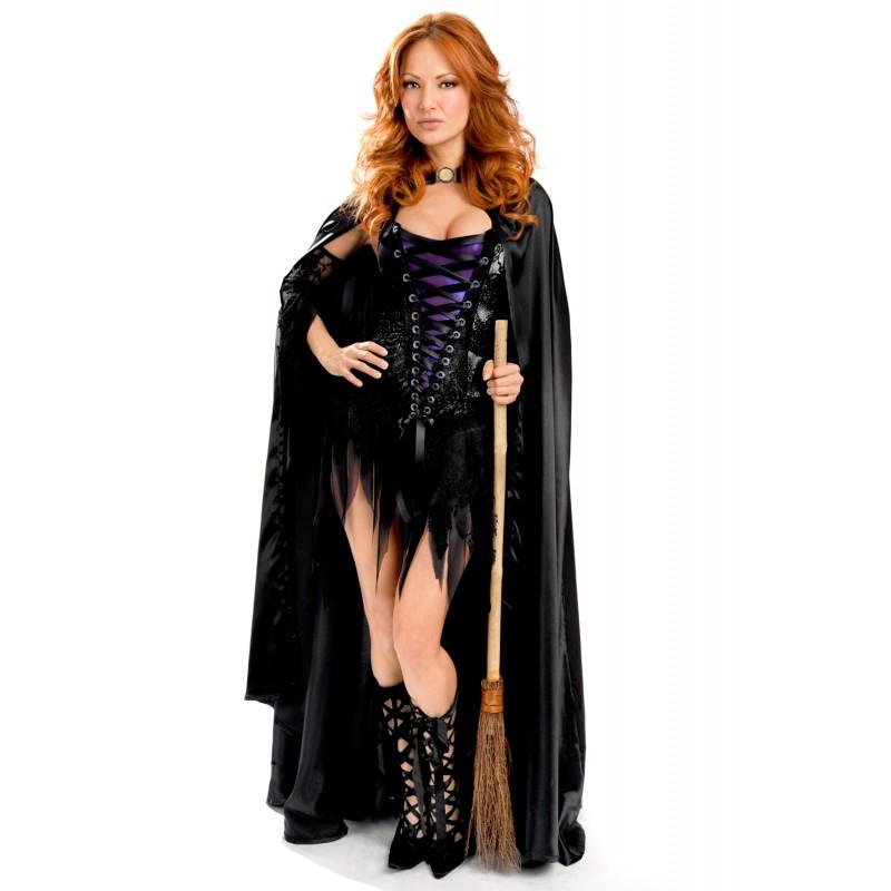 Vestido Halloween Bruja Sexy Queen Lingerie 210794