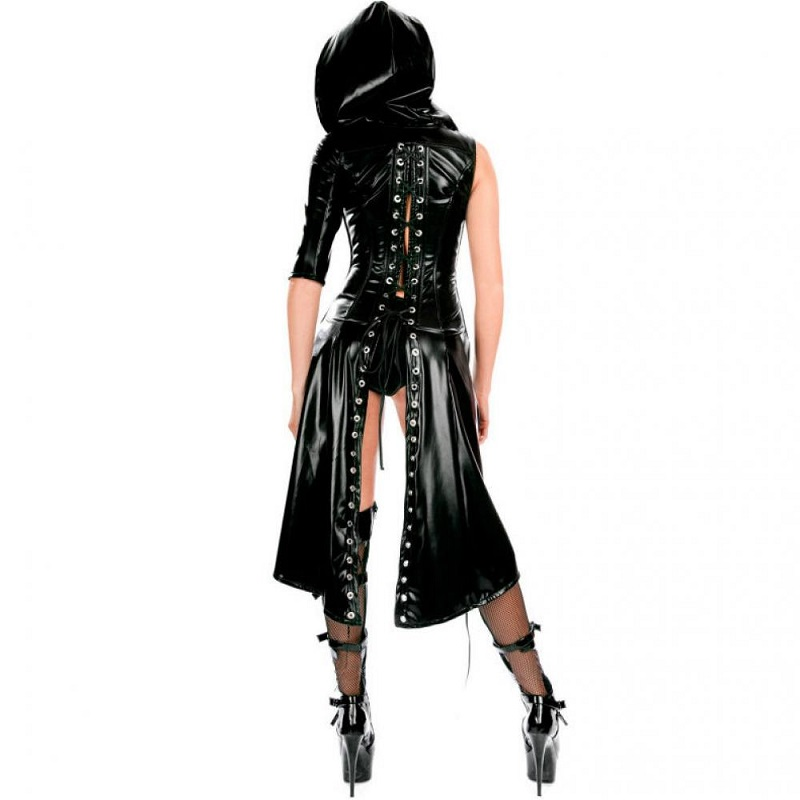 Conjunto Sexy Gothic Queen Lingerie 212337