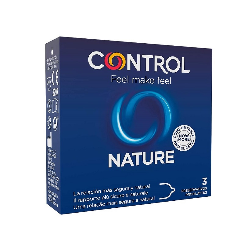 Caja 3 Preservativos Control Nature