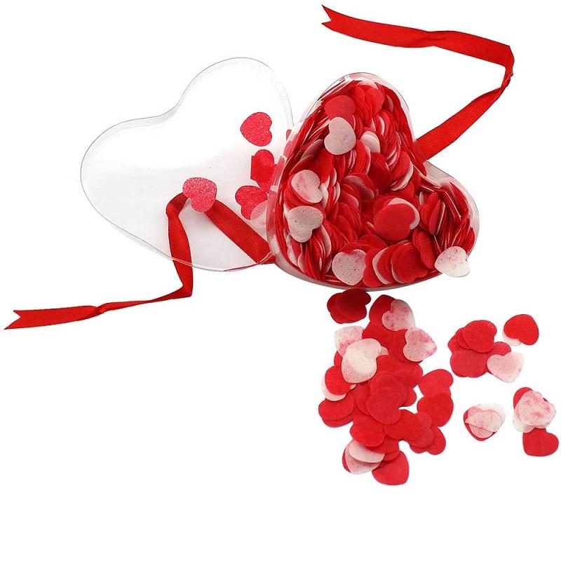 Confetti Hearts Bath