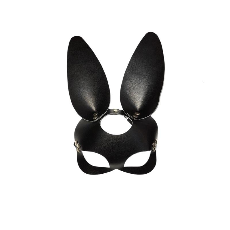 Máscara Cuero Conejo