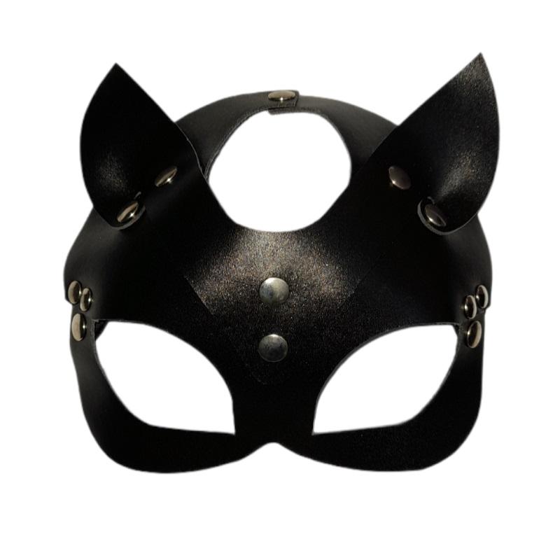 Máscara Cuero Gato