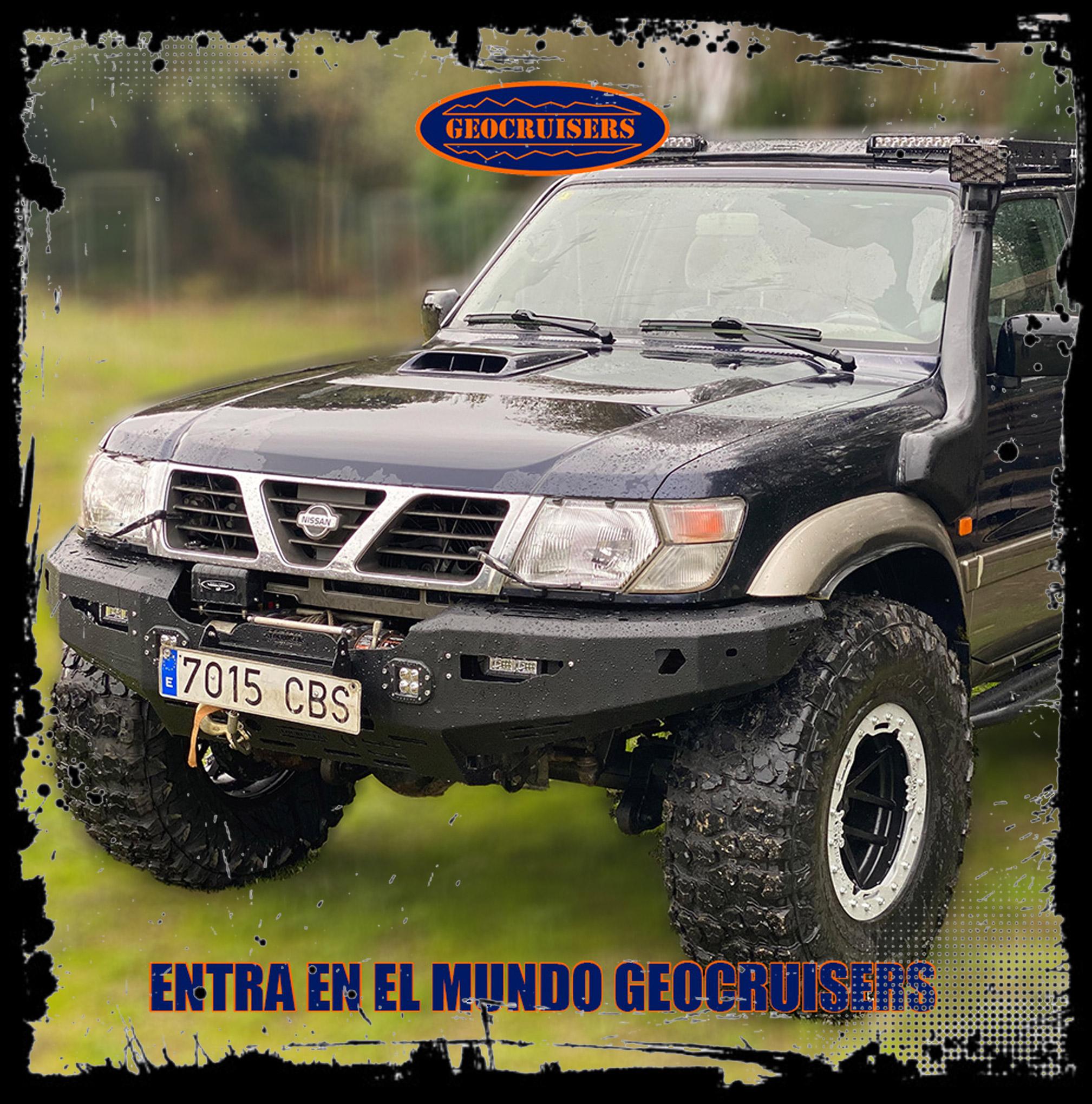Defensas para Nissan Patrol GR Y61 (- 2005)
