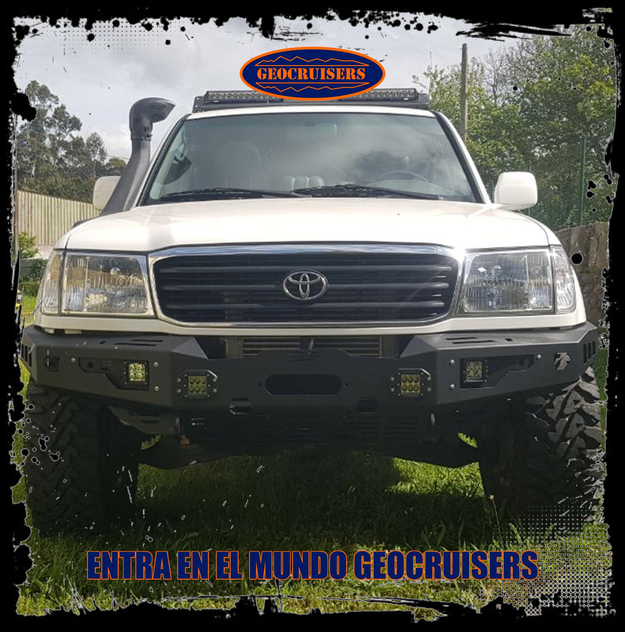 Defensas para Toyota Land Cruiser HDJ 100