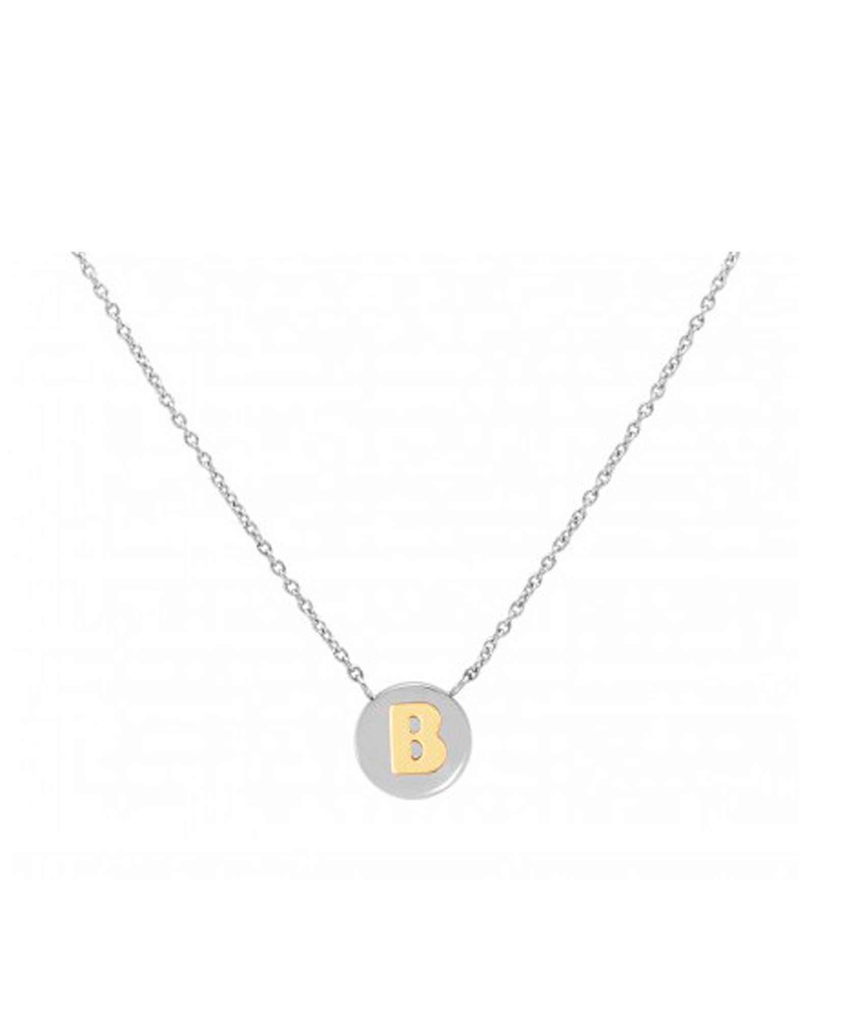 Cadena con Colgante Letra B Oro - 065010-002