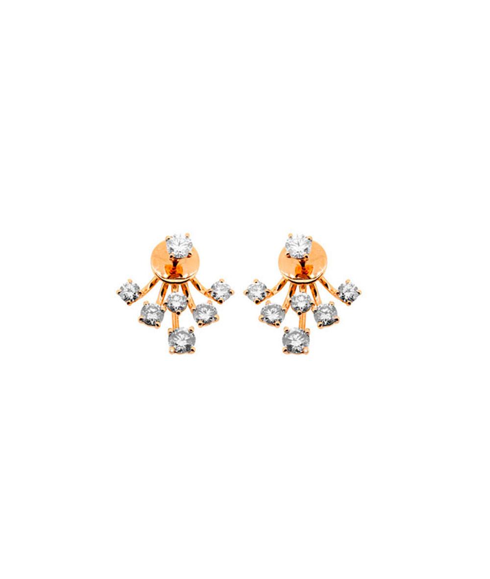 Pendientes Oro y Diamantes Griffe - 276-12845