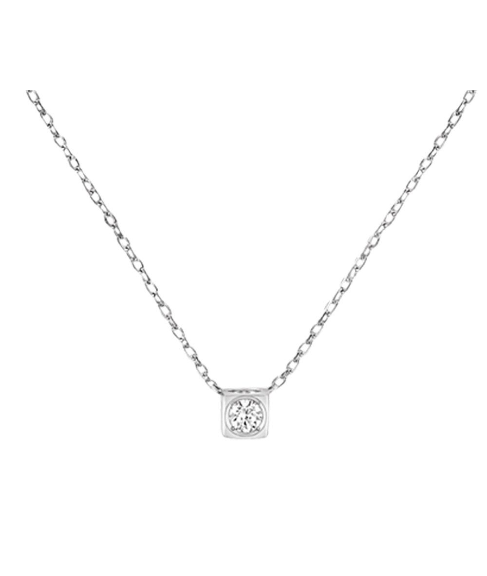 Collar Le Cube oro blanco y diamante #608312