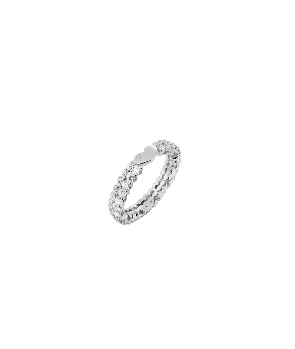 Anillo Oro Blanco y Diamantes - 000-3934NS