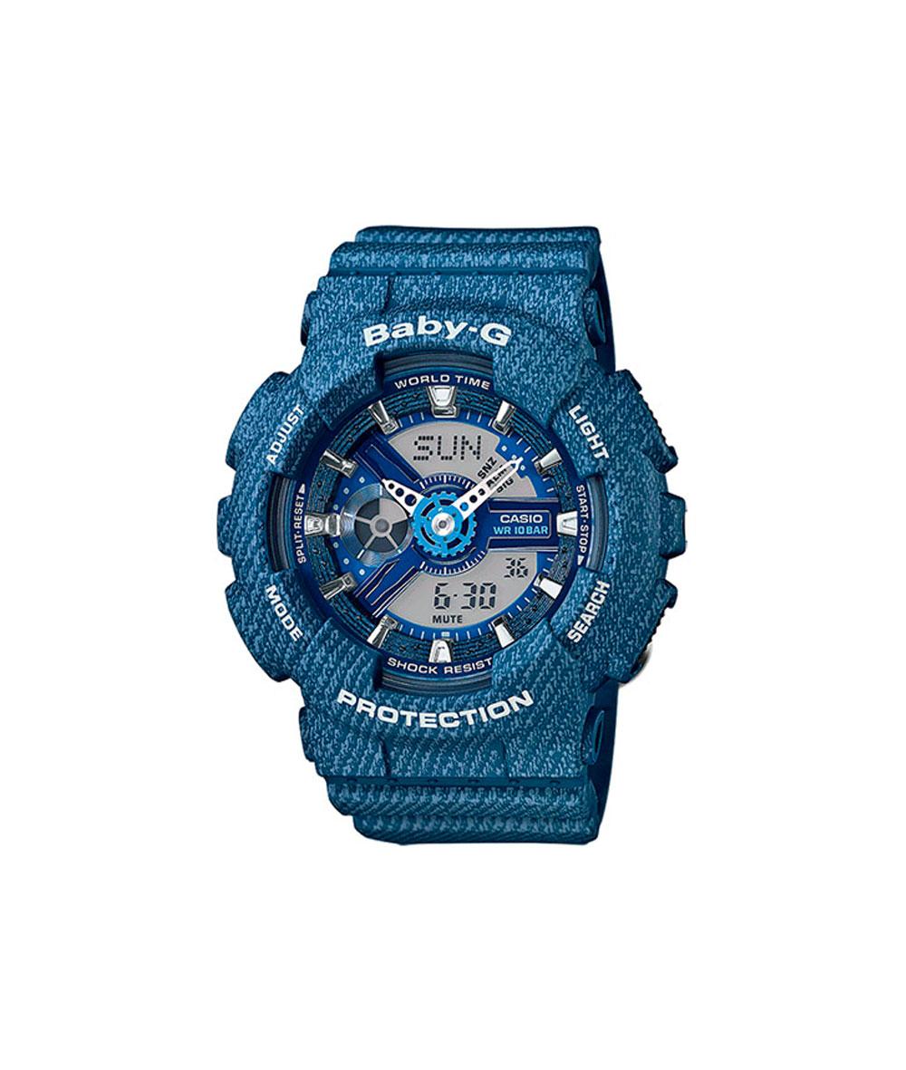 Baby-G Denim Blue - BA-110DC-2A2ER
