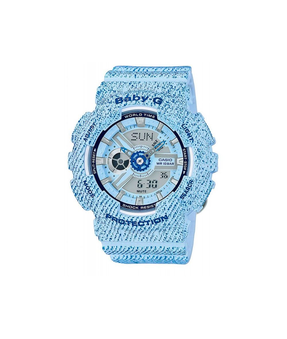 Baby-G Denim Blue - BA-110DC-2A3ER